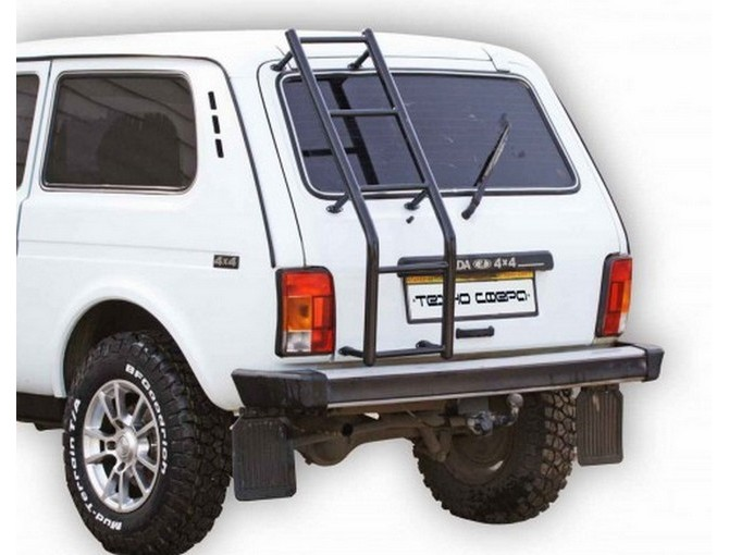 Lada Niva 21213,21214 ,2131 Only Tailgate Roof Ladder
