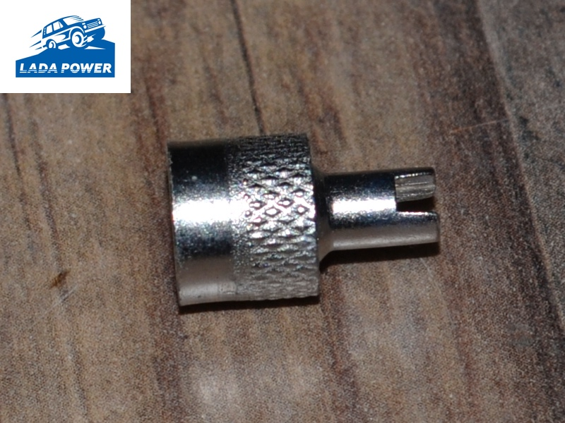 Lada Tyre Valve Stem Air Cap Screwdriver Type