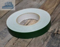 Double Sided Adhesive Tape White 10mx25mmx0.8mm